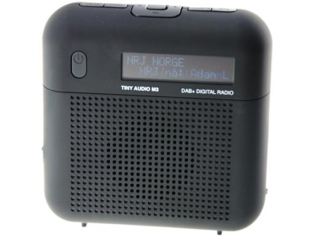 Tiny Audio M3 - DAB+ og FM radio