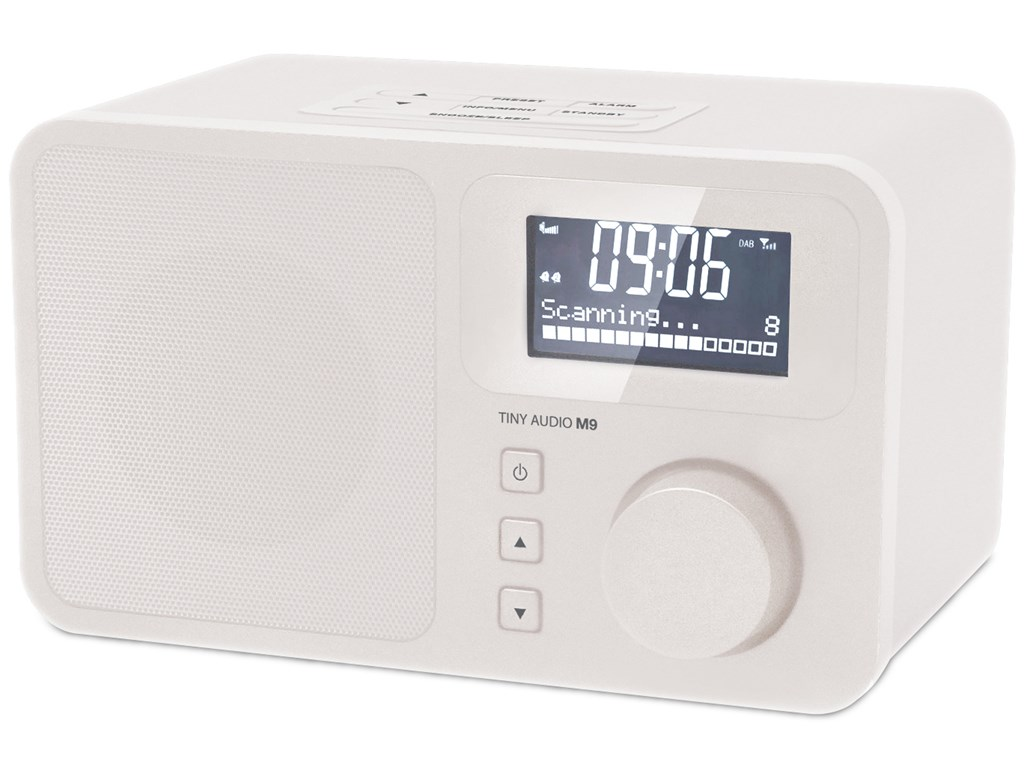 Tiny Audio M9  DAB+/FM - Radio
