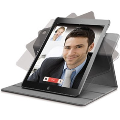 Rotating Cover iPad5, sort