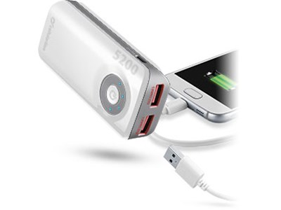 Powerbank 5.200 mAh - FREEDPOWER5200W