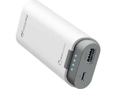 Powerbank 5.200 mAh - Cellularline