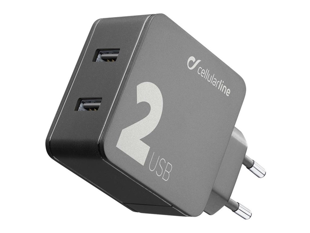 220V USB Adapter Multipower 2 - 12W+12W