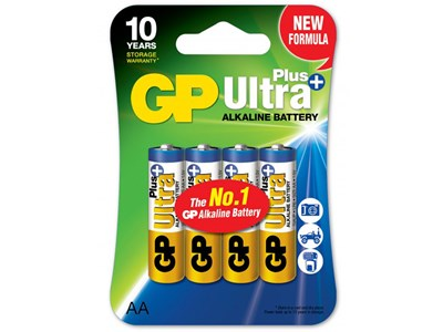 GP Batteri 15AUP-C4/ AA /LR6 ULTRA PLUS