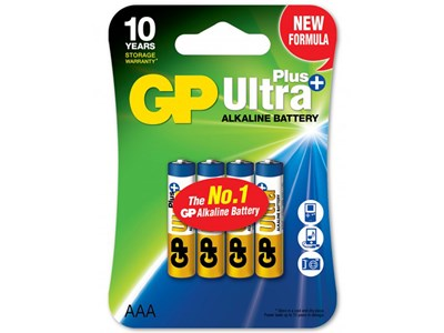 GP Batteri 24AUP-C4/AAA/LR03 ULTRA PLUS