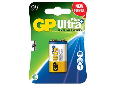 GP Batteri 1604AUP-C1/6LF22/9V ULTRA PLUS