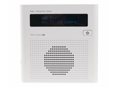 Tiny Audio M5 - DAB+/FM radio